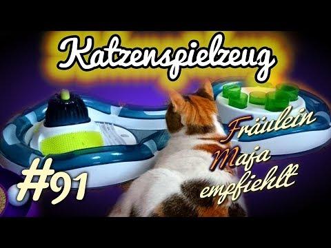 KATZENSPIELZEUG | 5 Katzenspielzeuge im Test (2018) | Fräulein Maja empfiehlt Teil 91
