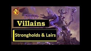 Villain Names, Villainous Characters, Strongholds & Lairs Homebrew 5e Nate the Nerdarch & Kienata