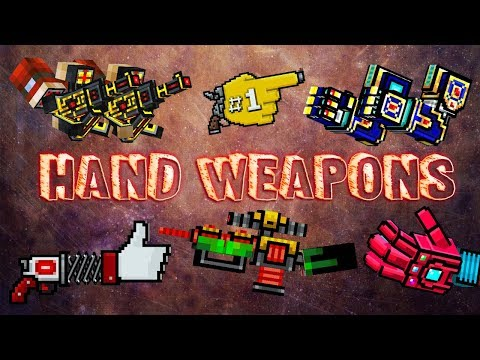 Pixel Gun 3D - Hand Weapons Gameplay
