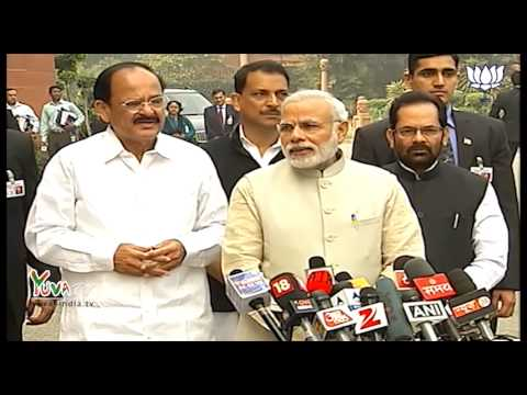 PM Shri Narendra Modi's statement to the Media ahead of Budget Session of Parliament: 23.02.2015