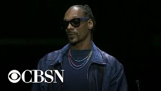 "Snoop Dogg remembers Nipsey Hussle: ""We had the same spirit"""