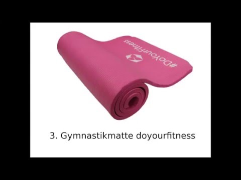 Die 3 besten Gymnastikmatte Yogamatte im Vergleich 2017 NEU