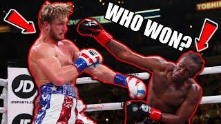 Reacting to KSI vs Logan Paul 2 (WHO REALLY WON??)