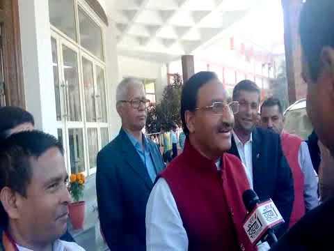 स्वामी राम जी की महा समाधी दिवस के अवसर पर पूर्व मुख्यमंत्री एवं सांसद रमेश पोखरियाल निशंक
