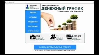 Денежный график - сайт для заработка денег в интернете - как заработать