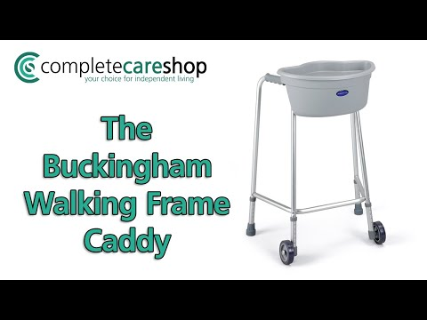 Buckingham Walking Frame Caddy Demonstration