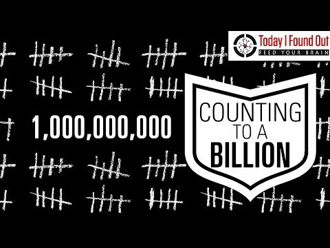 How Long Would It Take to Count to a Billion and What's the Highest Anyone Has Counted?