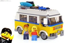 LEGO Creator Sunshine Surfer Van 3-in-1 review 🏖️ 31079