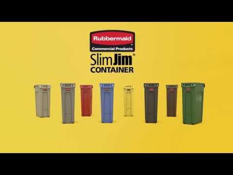Контейнер 87 литров SlimJim 1956188