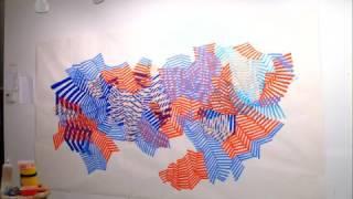 Big Blue and Orange sketch by Martina Nehrling