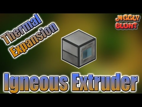 Igneous Extruder (Thermal Expansion) | Minecraft Mod Tutorial