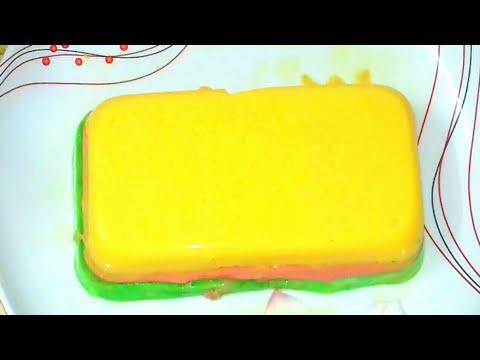Milk layer pudding   মিল্ক লেয়ার পুডিং   Sharmin's cooking recipe
