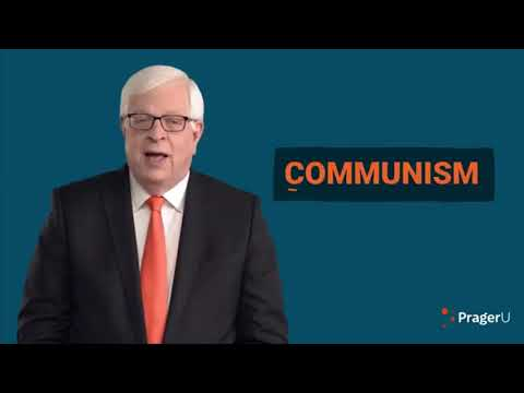 """Prager U claims that Communism is """"immoral"""""""