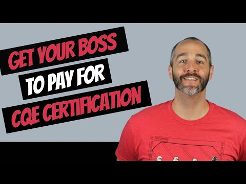 CQE Exam – 17 Tips to Convince Your Company to Pay for Training ...