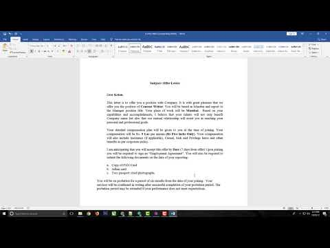 mp4 Hiring Letter Template, download Hiring Letter Template video klip Hiring Letter Template