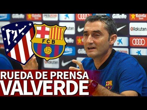 Atlético - Barcelona | Rueda de prensa previa de Valverde | Diario AS