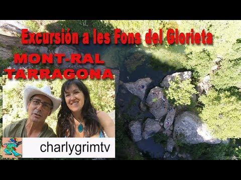 Excursión a Les Fonts Del Glorieta, Mont-Ral Tarragona catalonia, Dji phantom 4 pro