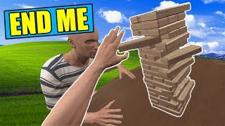 The HARDEST game of JENGA EVER!