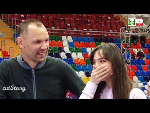 Evgenia MEDVEDEVA & Sergey IGNASHEVICH - Pre-game show+Interview (Basketball, 01/2019)