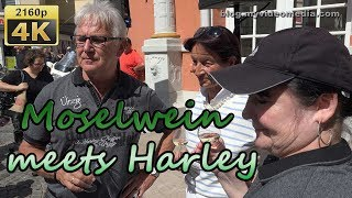 Moselwein meets Harley 2018 in Wittlich - Germany  4K Travel Channel