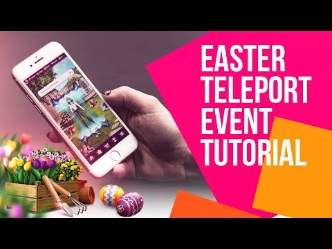 How to play teleport events in Lady Popular