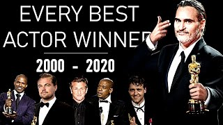 OSCARS : Every Best Actor (2000-2020) - TRIBUTE VIDEO