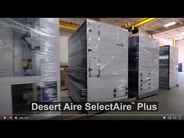 SelectAire Plus built in 5 pieces is easy to ship and install