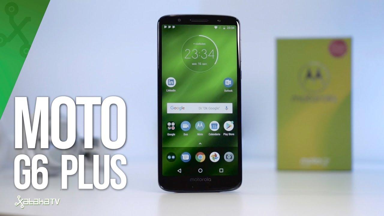 6d0f65f878e Moto G6 Plus, análisis: review con características, precio y  especificaciones