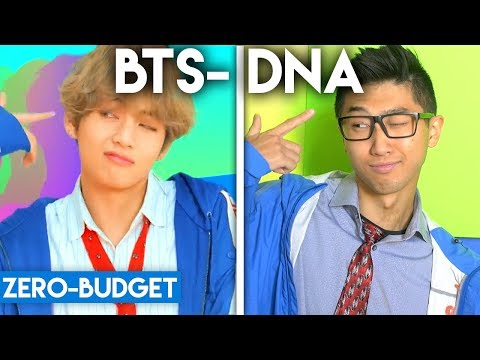 K-POP WITH ZERO BUDGET! (BTS- DNA)