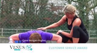 preview picture of video 'Claire Morgan-Hughes - Natwest Venus Awards, Devon. Customer Services Award for Devon Fit Camp'