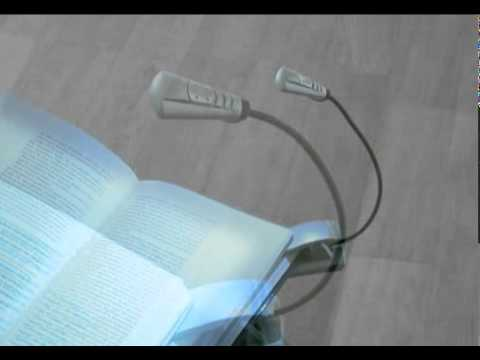 mobile LED Leselampe mit Batterie - Geschenkidee