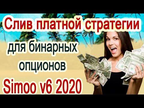Слив платной стратегии для бинарных опционов. Simoo v6 2020