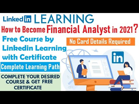 How to become a Financial Analyst in 2021 | Financial Analyst Free ...