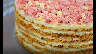 Самый Модный Торт из Крошки ! Торт без выпечки Пломбир рецепт