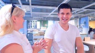 VLOG: ТЕПЕРЬ СНИМАЕМ РЕЦЕПТЫ В IKEA!  10.10.17