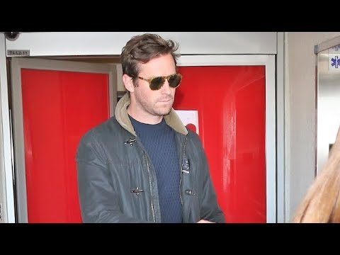 Towering Gentleman Armie Hammer Signs For Fans