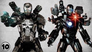 Top 10 Alternate Iron Man - War Machine Facts