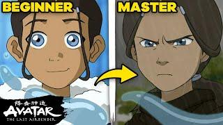 Katara's Waterbending Evolution 💦❄️ | Avatar