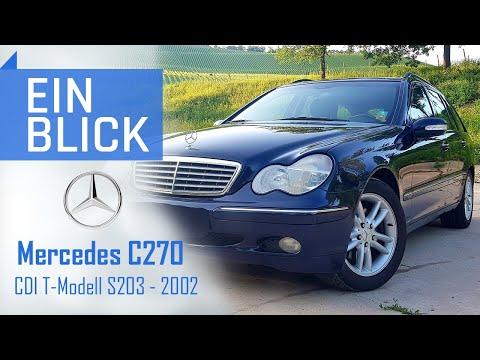 """Mercedes C270 CDI T-Modell S203 2002 - Was kann er als """"Vor-MoPf""""? Vorstellung, Test & Kaufberatung"""