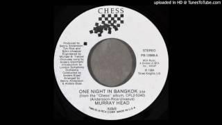 Murray Head   One Night In Bangkok (Single Version)