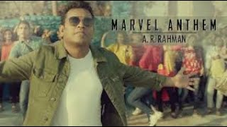 Marvel Anthem | Video song  making | Tamil | A.R.Rahman