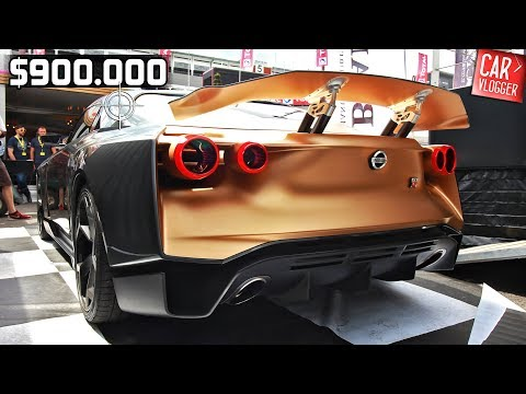 SNEAK PREVIEW the NEW Nissan GT-R50 by Italdesign 2019