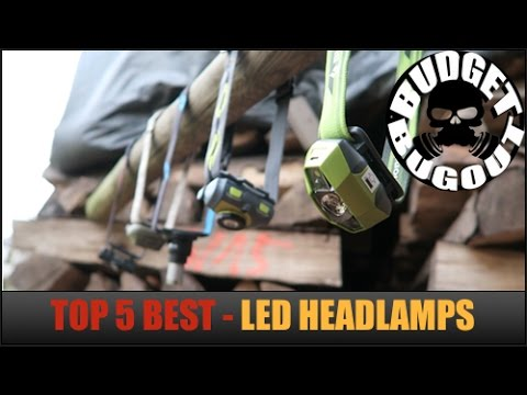 Top 5 Best Headlamps — Hands Free LED Lights | Outdoors, Camping, Hunting, Tactical, Everyday Carry