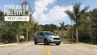 Ford KA 1.0 FreeStyle - Test Drive
