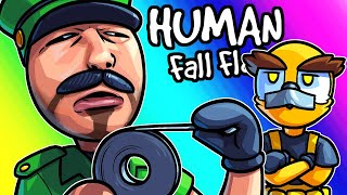 Human Fall Flat Funny Moments - Vanoss Saying Naughty Stuff Again!