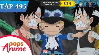 One Piece Tập 495 - Sẽ Không Trốn Chạy. Chiến Dịch Liều Mạng Giải Cứu Của Ace - Đảo Hải Tặc