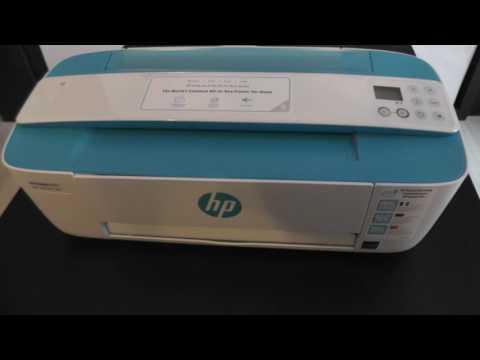 Let's Auspack HP Deskjet 3720 - Kleinster all in one Drucker