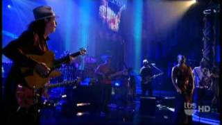 """Santana - """"While My Guitar Gently Weeps"""" 9/22 Lopez Tonight (TheAudioPerv.com)"""