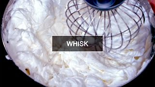 Slow Motion Food #6 : Whisk | Kitchen Verb by Alex French Guy Cooking