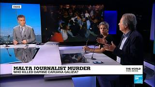 """""""It feels extraordinary that a journalist could be murdered in the EU"""""""